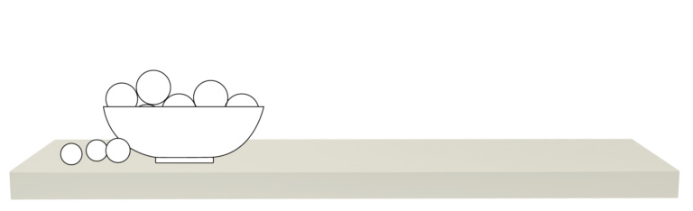 wandplan op maat in Lac Sandy